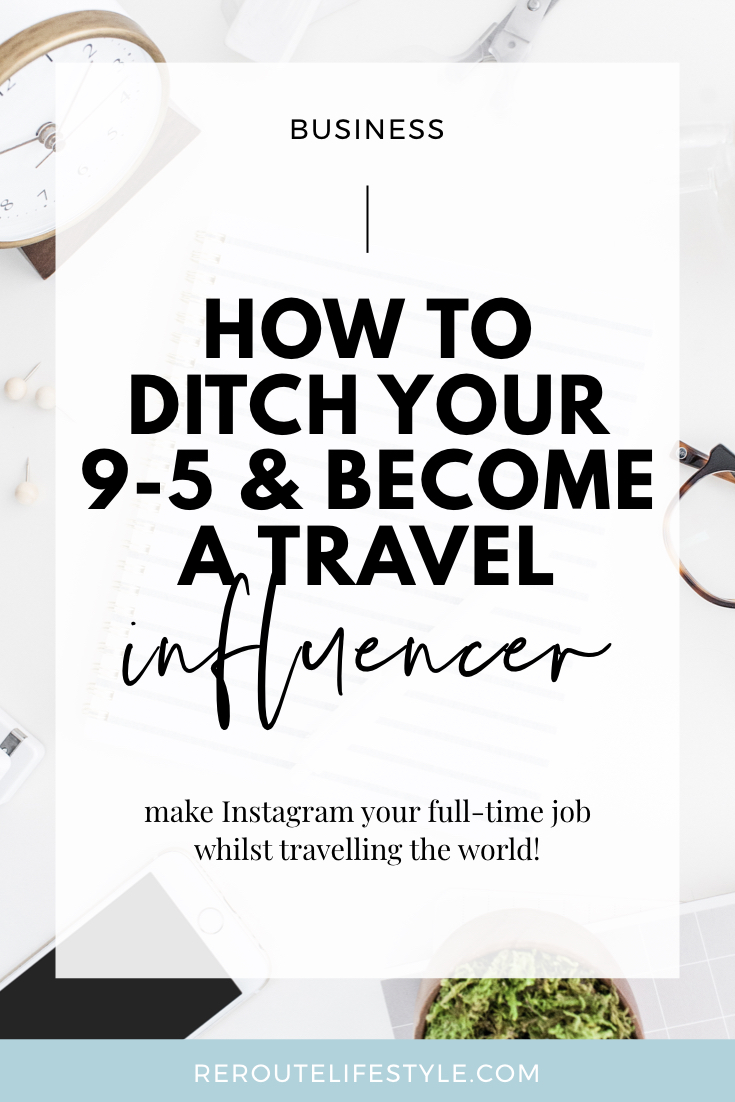 Social media is your jam, and you are obsessed with getting Instagram engagement on your posts. Have you ever thought about traveling the world making money online with Instagram as your full time job? Read on for 3 tips to ditch your day job and become a travel influencer.