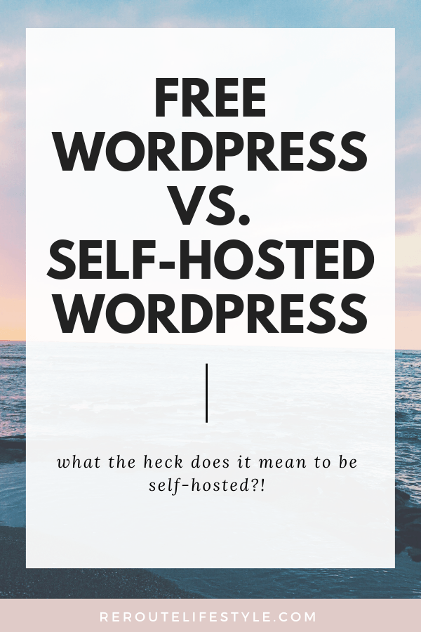 What's the best platform so bloggers can work from home and make money online? We compare WordPress.com and self-hosted WordPress.org so you can decide which platform is better for you to start your journey blogging.
